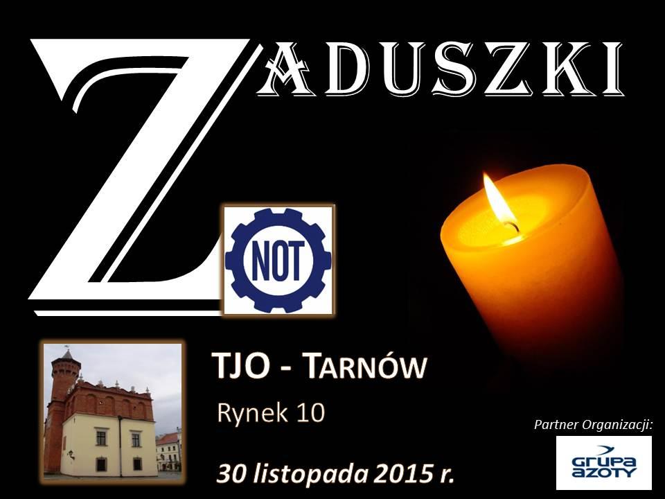 Zaproszenie_Zaduszki 30.11.2015
